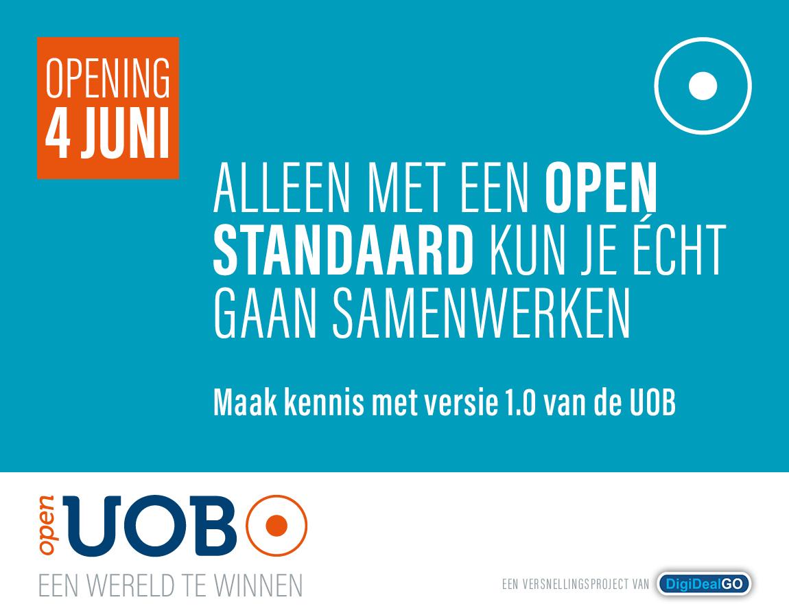 UOB open standaard echt samenwerken